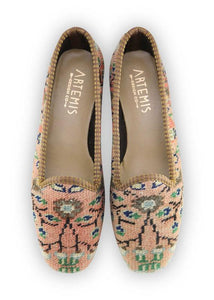 Women's Shoes - Women's Carpet Loafers - Size 36