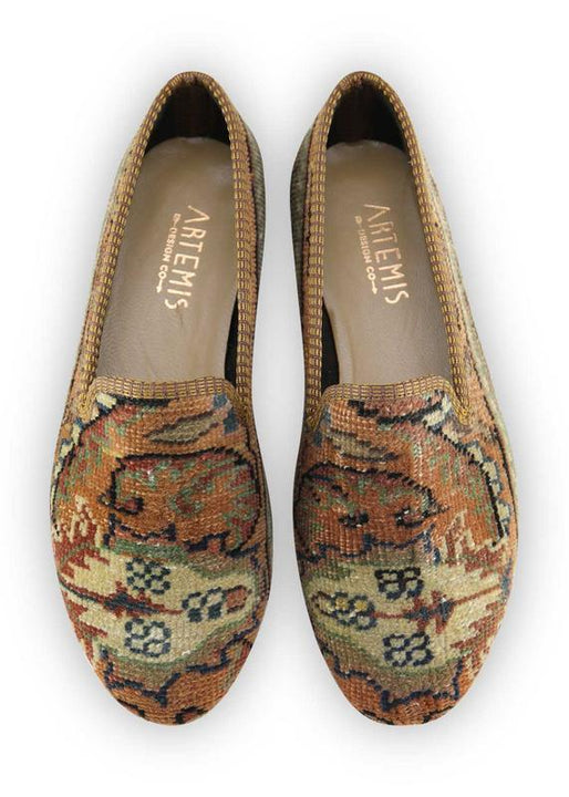 Women's Shoes - Women's Carpet Smoking Shoes - Size 40
