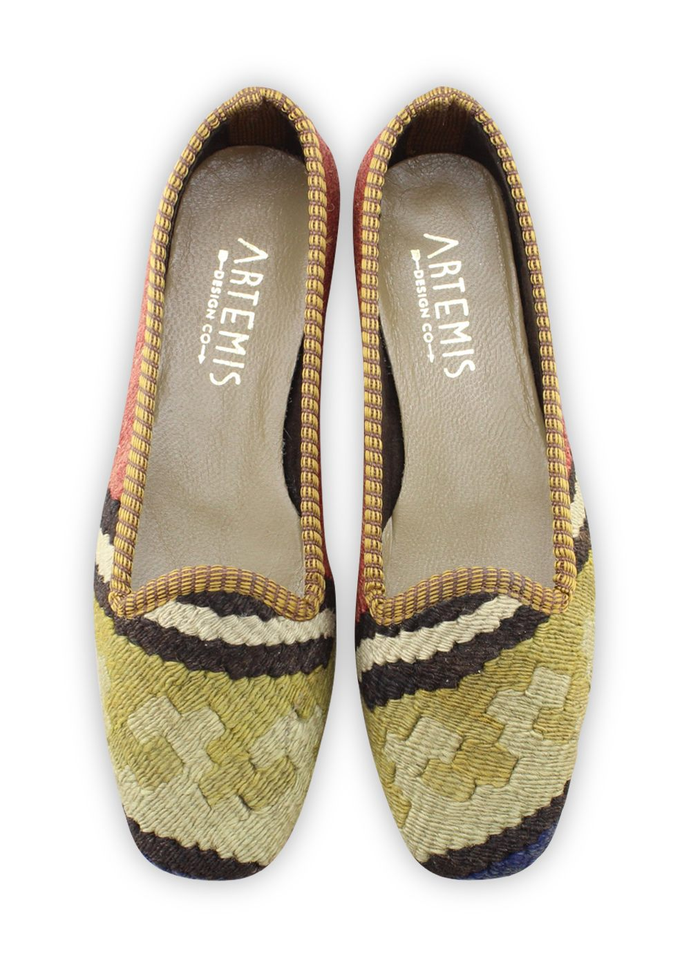 Women's Shoes - Women's Kilim Loafers - Size 36