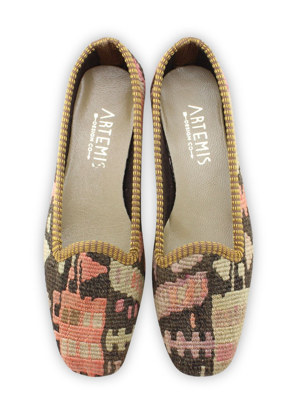 Women's Shoes - Women's Kilim Loafers - Size 37