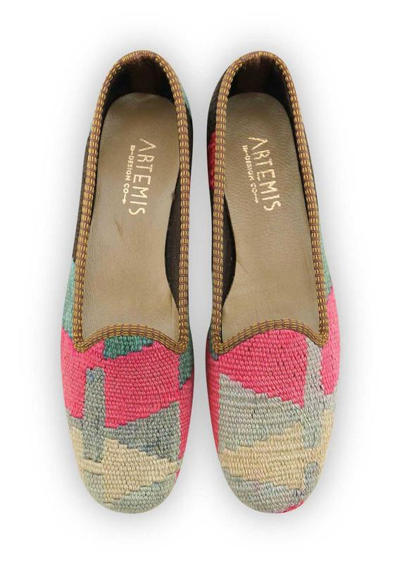 Women's Shoes - Women's Kilim Loafers - Size 39