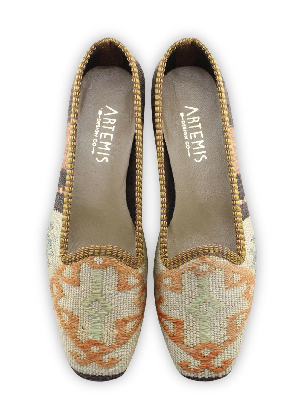 Women's Shoes - Women's Kilim Loafers - Size 40