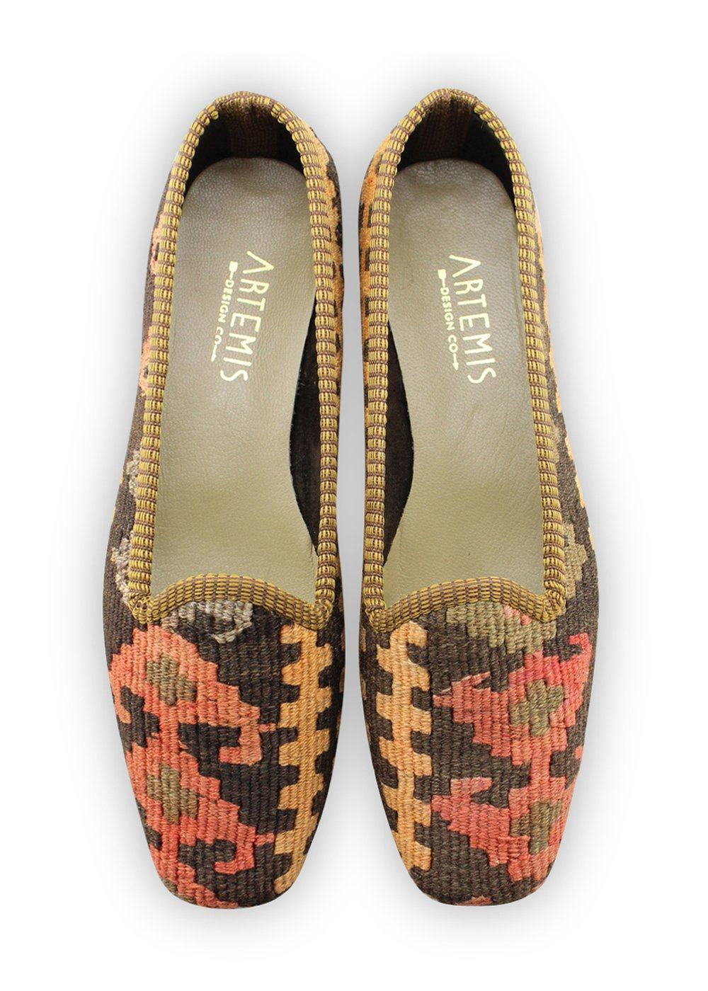 Women's Shoes - Women's Kilim Loafers - Size 41