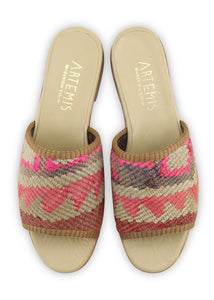 Women's Shoes - Women's Kilim Sandals - Size 37