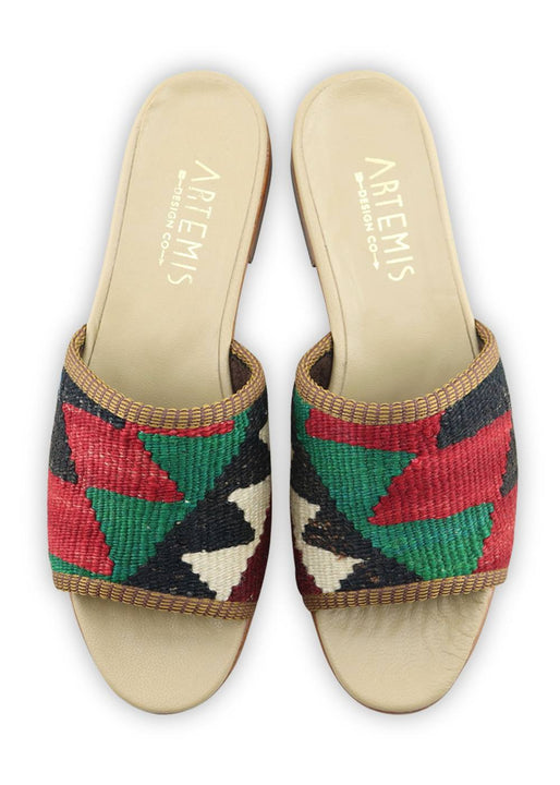 Women's Shoes - Women's Kilim Sandals - Size 38