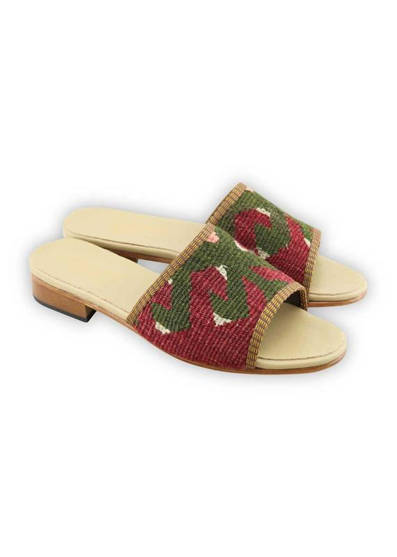 Load image into Gallery viewer, Women's Shoes - Women's Kilim Sandals - Size 38
