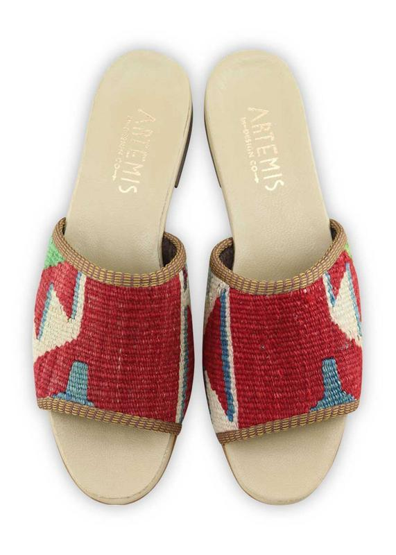 Women's Shoes - Women's Kilim Sandals - Size 39