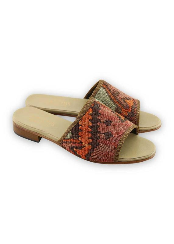 Load image into Gallery viewer, Women's Shoes - Women's Kilim Sandals - Size 39