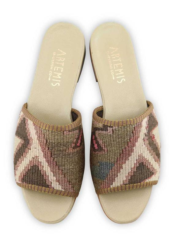 Women's Shoes - Women's Kilim Sandals - Size 40