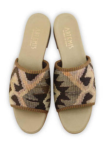 Women's Shoes - Women's Kilim Sandals - Size 41