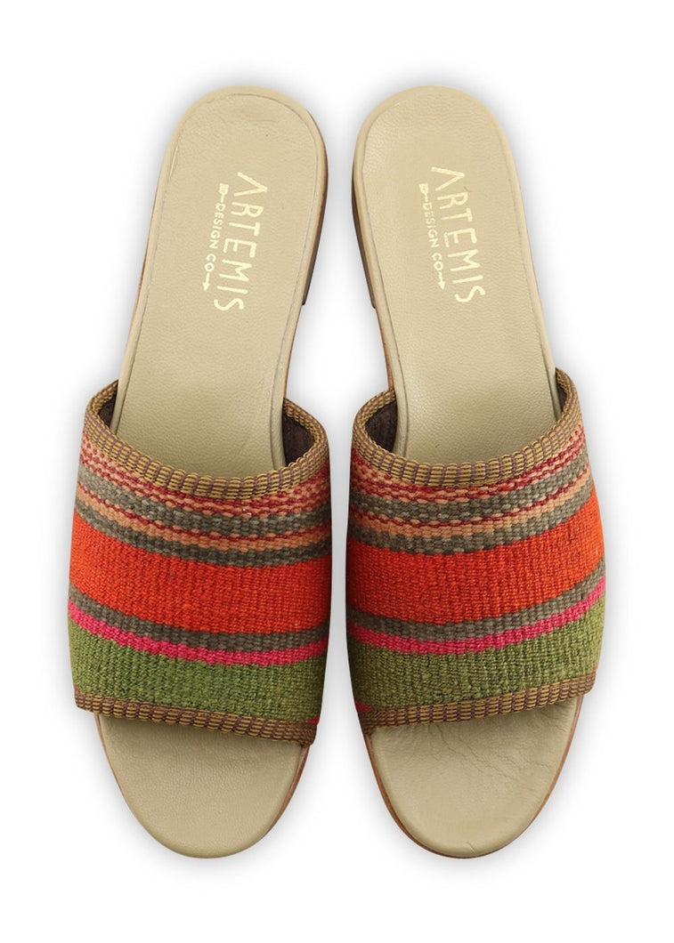 Load image into Gallery viewer, Women's Shoes - Women's Kilim Sandals - Size 41