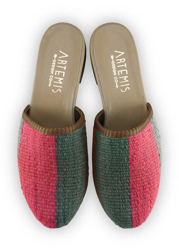 Load image into Gallery viewer, Women's Shoes - Women's Kilim Slides - Jen Pinkston X ADC - Size 36
