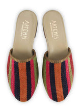 Load image into Gallery viewer, Women's Shoes - Women's Kilim Slides - Size 36