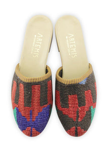 Women's Shoes - Women's Kilim Slides - Size 37