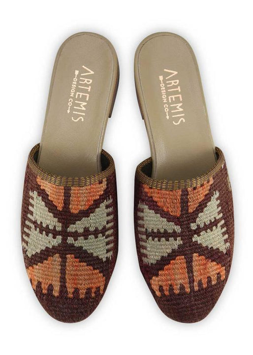 Women's Shoes - Women's Kilim Slides - Size 38