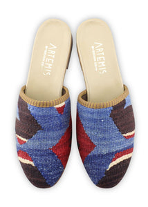 Women's Shoes - Women's Kilim Slides - Size 39