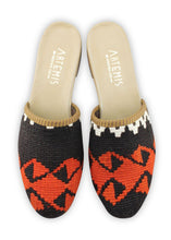 Load image into Gallery viewer, Women's Shoes - Women's Kilim Slides - Size 40