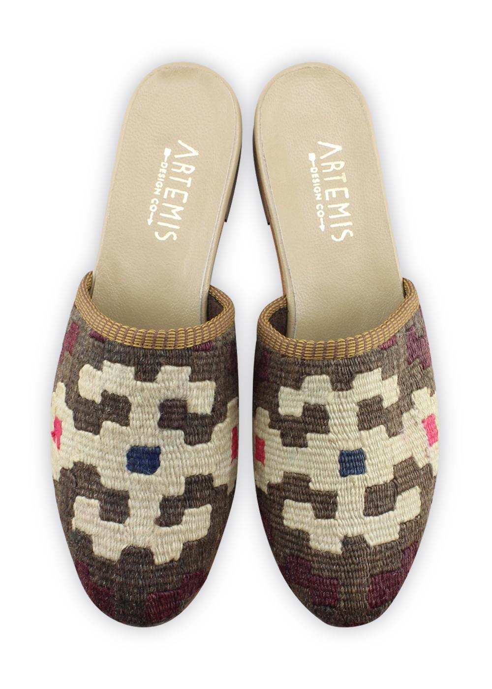 Women's Shoes - Women's Kilim Slides - Size 41