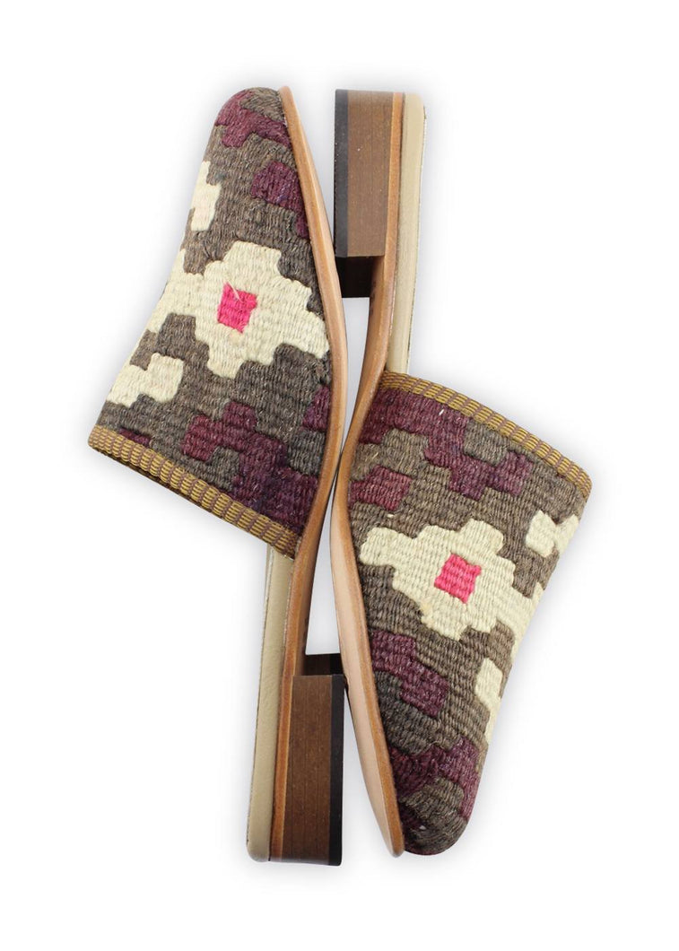 Load image into Gallery viewer, Women's Shoes - Women's Kilim Slides - Size 41
