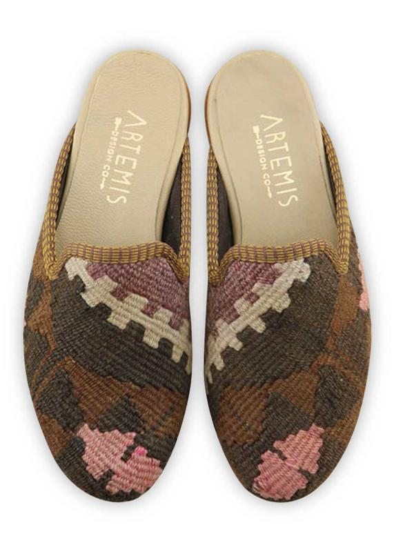 Load image into Gallery viewer, Women's Shoes - Women's Kilim Slippers - Size 36