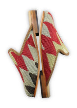 Load image into Gallery viewer, Women's Shoes - Women's Kilim Slippers - Size 37