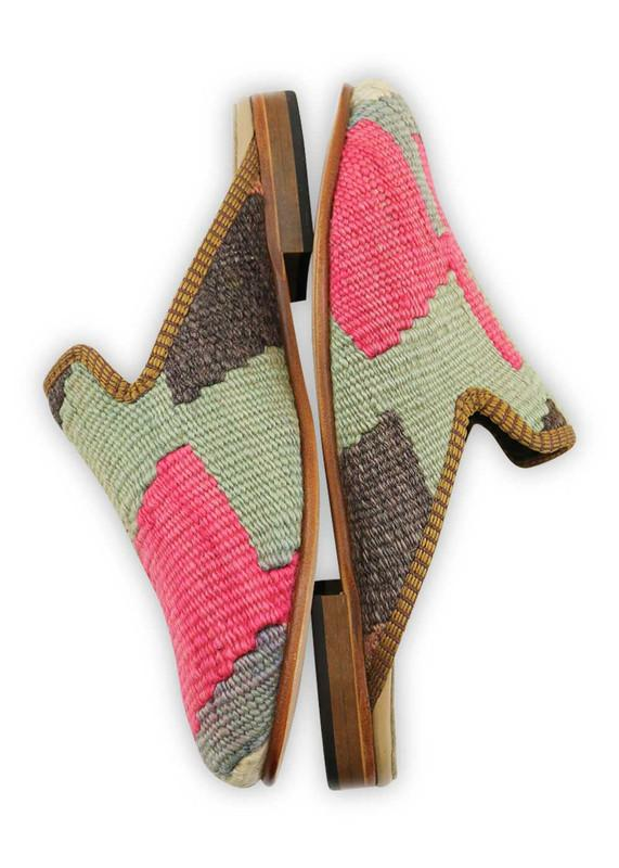 Load image into Gallery viewer, Women's Shoes - Women's Kilim Slippers - Size 38