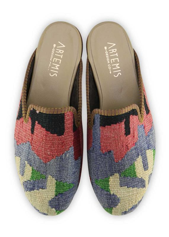 Load image into Gallery viewer, Women's Shoes - Women's Kilim Slippers - Size 41