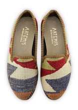 Load image into Gallery viewer, Women's Shoes - Women's Kilim Smoking Shoes - Size 35