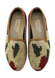 Women's Shoes - Women's Kilim Smoking Shoes - Size 35