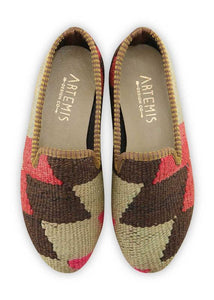 Women's Shoes - Women's Kilim Smoking Shoes - Size 36