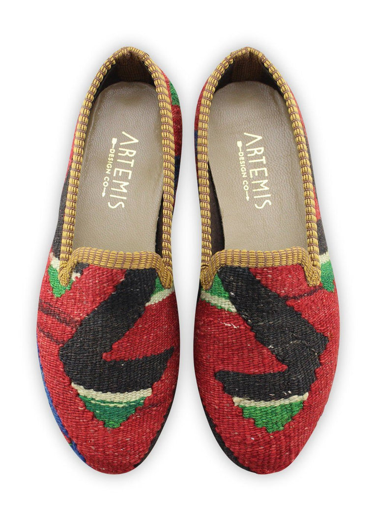 Load image into Gallery viewer, Women's Shoes - Women's Kilim Smoking Shoes - Size 37