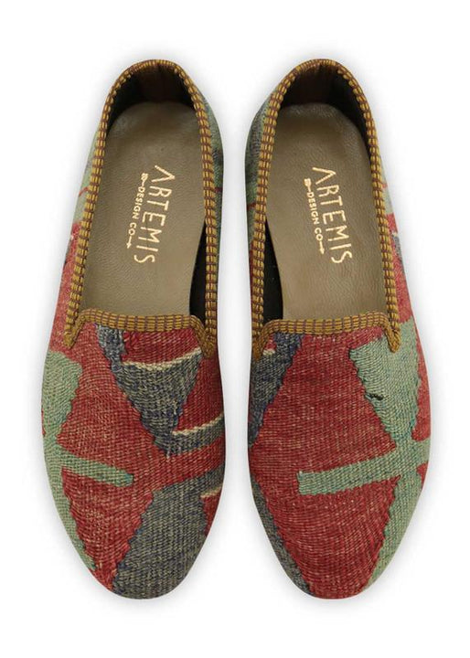 Women's Shoes - Women's Kilim Smoking Shoes - Size 37