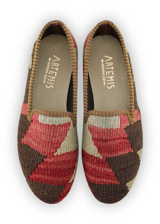Women's Shoes - Women's Kilim Smoking Shoes - Size 38