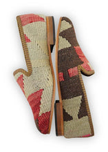 Load image into Gallery viewer, Women's Shoes - Women's Kilim Smoking Shoes - Size 38