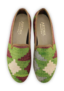 Women's Shoes - Women's Kilim Smoking Shoes - Size 39