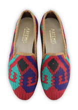 Load image into Gallery viewer, Women's Shoes - Women's Kilim Smoking Shoes - Size 39