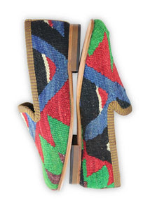 Women's Shoes - Women's Kilim Smoking Shoes - Size 40