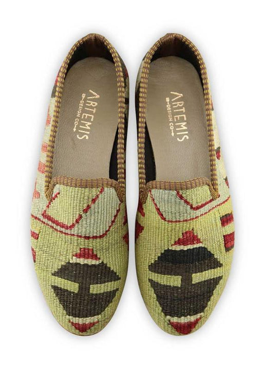 Women's Shoes - Women's Kilim Smoking Shoes - Size 41