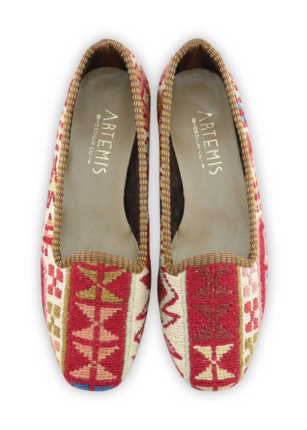 Women's Shoes - Women's Sumak Kilim Loafers - Size 36
