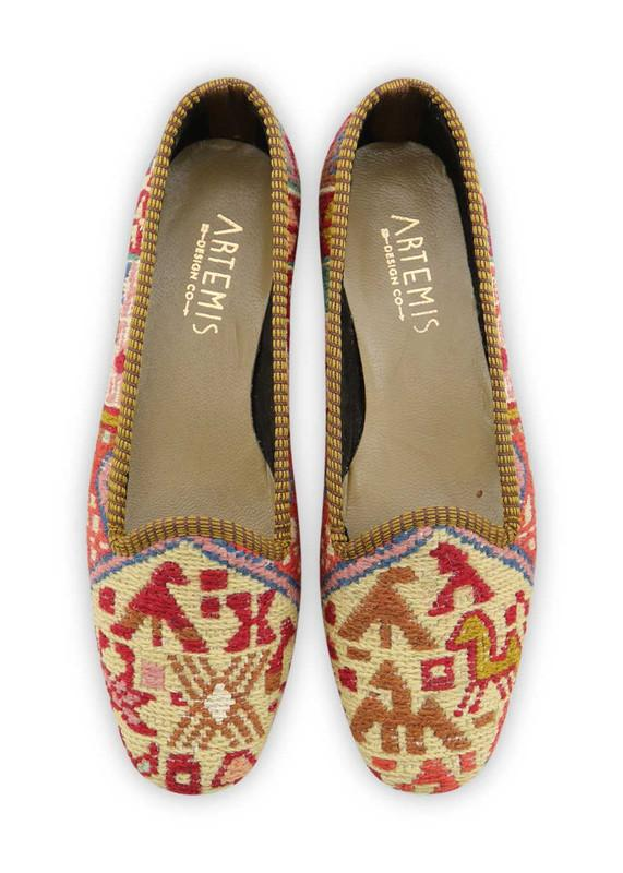 Load image into Gallery viewer, Women's Shoes - Women's Sumak Kilim Loafers - Size 38