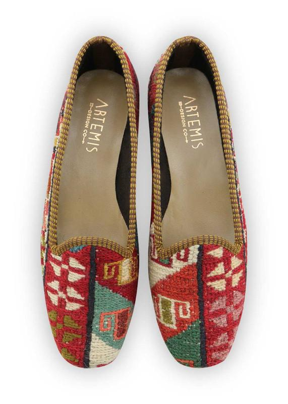 Women's Shoes - Women's Sumak Kilim Loafers - Size 39