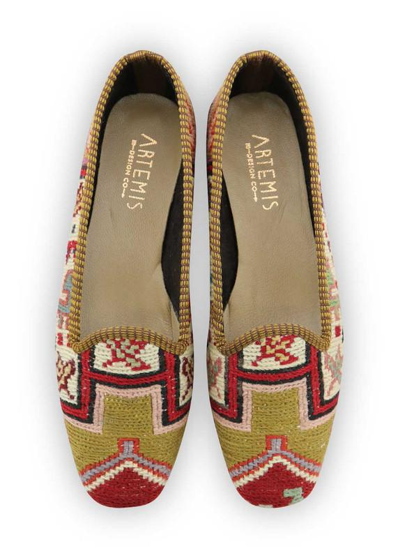 Load image into Gallery viewer, Women's Shoes - Women's Sumak Kilim Loafers - Size 39