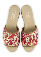 Load image into Gallery viewer, Women's Shoes - Women's Sumak Kilim Sandals - Size 36