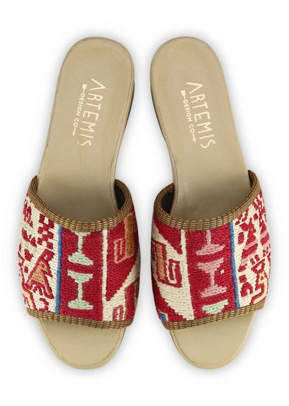 Women's Shoes - Women's Sumak Kilim Sandals - Size 37