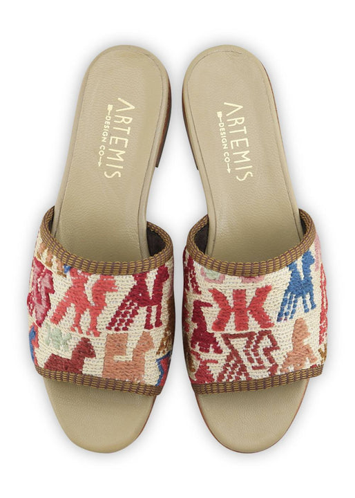 Women's Shoes - Women's Sumak Kilim Sandals - Size 38