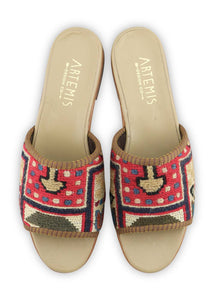 Women's Shoes - Women's Sumak Kilim Sandals - Size 39