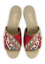 Load image into Gallery viewer, Women's Shoes - Women's Sumak Kilim Sandals - Size 42