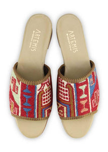 Women's Shoes - Women's Sumak Kilim Sandals - Size 42