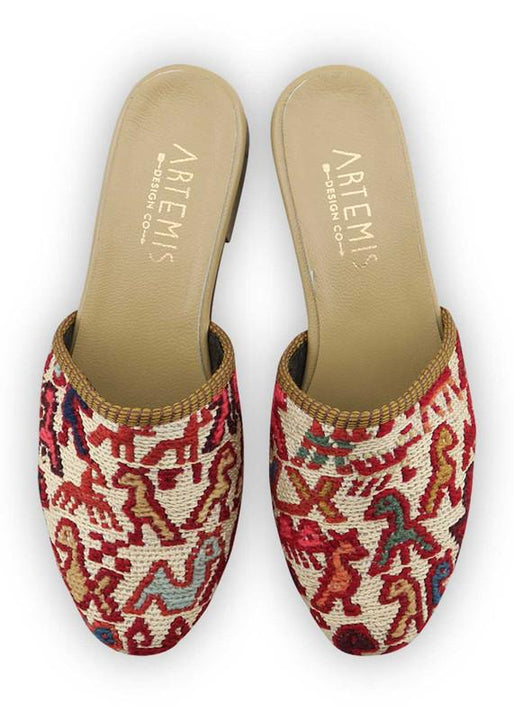 Women's Shoes - Women's Sumak Kilim Slides - Size 36