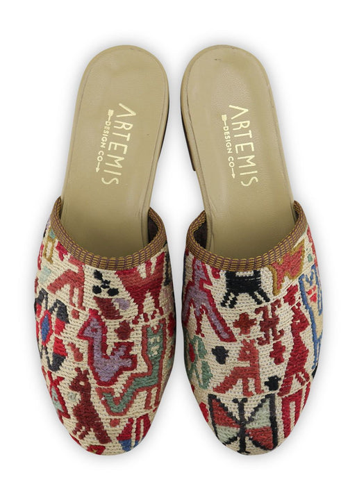 Women's Shoes - Women's Sumak Kilim Slides - Size 37